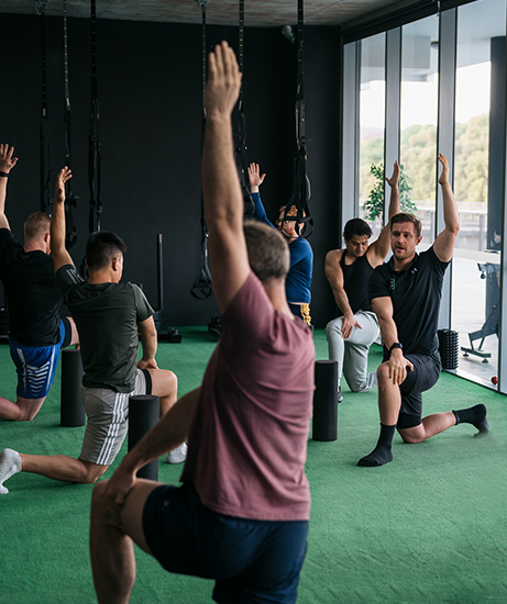 improve postural issue with rehab and recovery strategies